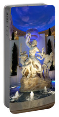 The Forum Shop Statues At Ceasars Palace Portable Battery Charger
