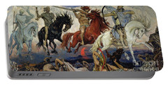 The Four Horsemen Of The Apocalypse Portable Battery Charger