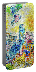 The Four Seasons Chicago Portrait Portable Battery Charger