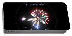 Portable Battery Charger featuring the photograph The Fourth Of July by Felipe Adan Lerma