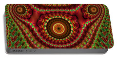 The Fractal Beast Portable Battery Charger by Thibault Toussaint