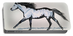 The Framed American Paint Horse Portable Battery Charger