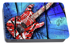 The Frankenstrat Vii Cropped Portable Battery Charger by Gary Bodnar