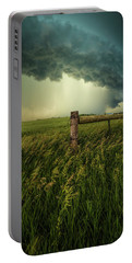 Portable Battery Charger featuring the photograph The Frayed Ends Of Sanity  by Aaron J Groen