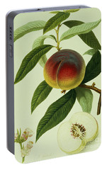 The Galande Peach Portable Battery Charger by William Hooker