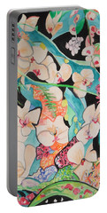 The Gallery Of Orchids 1 Portable Battery Charger