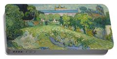 The Garden Of Daubigny Portable Battery Charger