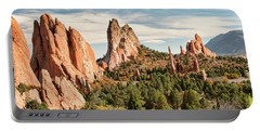 The Garden Of The Gods - Colorado Portable Battery Charger