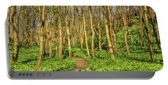 Portable Battery Charger featuring the photograph The Garlic Forest by Roy McPeak