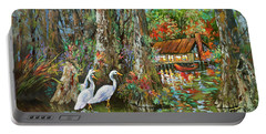 The Gathering - Louisiana Swamp Life Portable Battery Charger