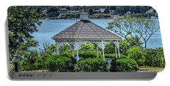 Portable Battery Charger featuring the photograph The Gazebo by Tom Prendergast