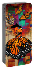 Portable Battery Charger featuring the mixed media The Gift Of Life by Marvin Blaine