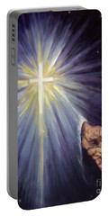 The Gift Of The Saviour Portable Battery Charger