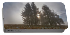 Portable Battery Charger featuring the photograph The Gloomy Sunrise by Jeremy Lavender Photography