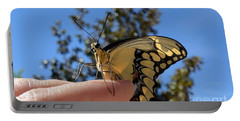 The Glorious Swallowtail  Portable Battery Charger