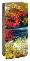 The Glory Of A New England Autumn Portable Battery Charger