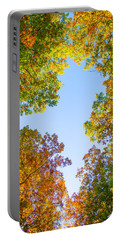 Portable Battery Charger featuring the photograph The Glory Of Autumn by Parker Cunningham