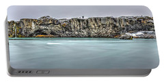 The Godafoss Falls Pano Portable Battery Charger