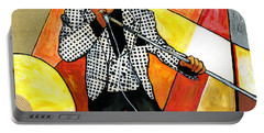 The Godfather Of Soul James Brown Portable Battery Charger