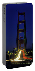 The Golden Gate Bridge Twilight Portable Battery Charger