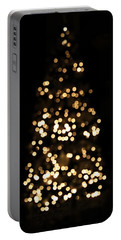 The Golden Glow Of A Christmas Tree Portable Battery Charger