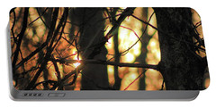 Portable Battery Charger featuring the photograph The Golden Hour by Bruce Patrick Smith