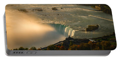 The Golden Mist Of Niagara Portable Battery Charger