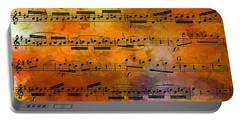 The Golden Music Of Motzart Portable Battery Charger