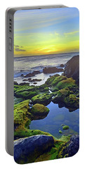 Portable Battery Charger featuring the photograph The Golden Skies Of Molokai by Tara Turner