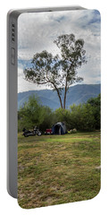 Portable Battery Charger featuring the photograph The Good Life by Linda Lees