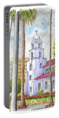 Good Shepherd Catholic Church In Beverly Hills, California Portable Battery Charger