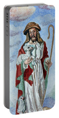 The Good Shepherd Portable Battery Charger by Susan Duda