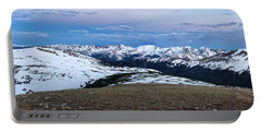 The Gore Range At Sunrise - Rocky Mountain National Park Portable Battery Charger by Ronda Kimbrow