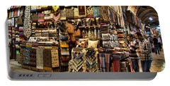 The Grand Bazaar In Istanbul Turkey Portable Battery Charger
