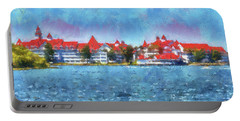 The Grand Floridian Resort Wdw 03 Photo Art Mp Portable Battery Charger