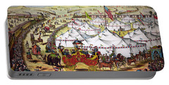The Grand Layout, Chromolithograph 1874 Portable Battery Charger
