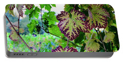 Portable Battery Charger featuring the photograph The Grape Vine by Corinne Rhode
