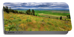 The Grasses Of Kamiak Butte Portable Battery Charger