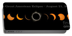 The Great American Eclipse Of 2017 Portable Battery Charger