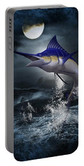 The Great Blue Marlin Portable Battery Charger