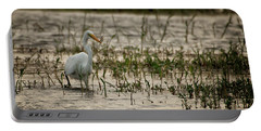 The Great Egret  Ardea Alba Syn  Casmerodius Albus  Portable Battery Charger
