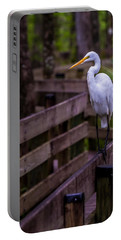 The Great Egret Portable Battery Charger