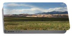 Portable Battery Charger featuring the photograph The Great Sand Dunes by Christin Brodie