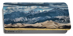 The Great Sand Dunes Panorama Portable Battery Charger