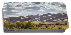 Portable Battery Charger featuring the photograph The Great Sand Dunes Triptych - Part 1 by Tim Stanley