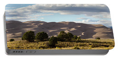 Portable Battery Charger featuring the photograph The Great Sand Dunes Triptych - Part 2 by Tim Stanley