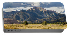 Portable Battery Charger featuring the photograph The Great Sand Dunes Triptych - Part 3 by Tim Stanley