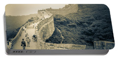 Portable Battery Charger featuring the photograph The Great Wall Of China by Heiko Koehrer-Wagner