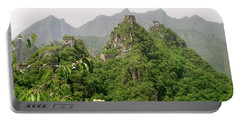 The Great Wall Of China Winding Over Mountains Portable Battery Charger