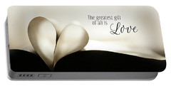 The Greatest Gift Portable Battery Charger by Lori Deiter